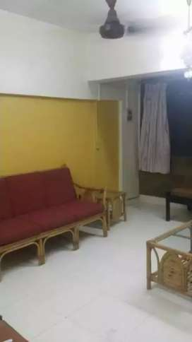 2 bhk furnished AC flat at Charai, Tembhi Naka. Bachelors allowed
