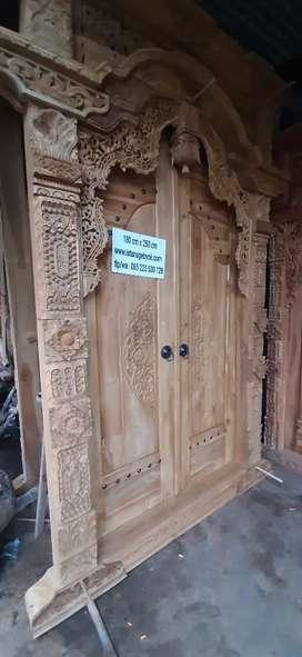 cuci gudang pintu gebyok gapuro jendela rumah masjid musholla naneng