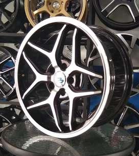 Velg mobil murah, racing pcd.5×114,3 lebar8 ring.18 offset.42.