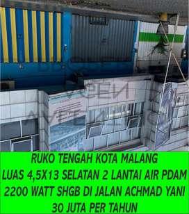 Disewakan Ruko Di Malang