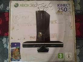 Xbox 360 250gb with kinect sensor bundle