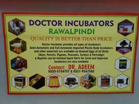 Always buy Doctor Incubators