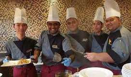 We Provide=All kitchen staff & fast food making in hotel line staff **
