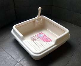 Pet Toilet Corner Cat Litter Box 09-250010 ID73