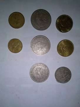 Uang koin 100.50.500 thn 1978