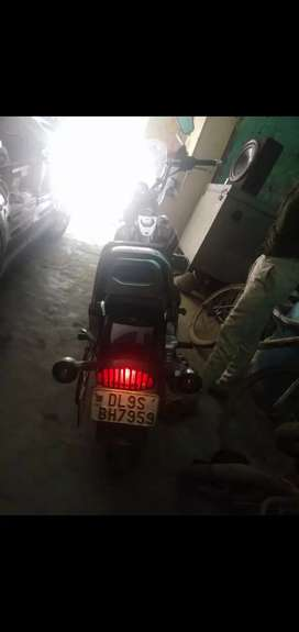I am selling my bike it has driven only 3000