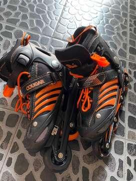 Sepatu Roda Cougar size M (34-37)