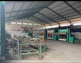 Jual Murah!!Pabrik Ngoro Mojokerto, Lt 7000m2, ada kantor 5, mess.