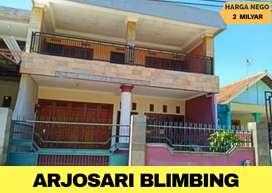 Rumah di jual murah prospek buat usaha di Arjosari kota Malang