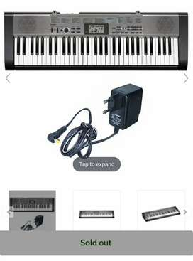 Casio ctk-1300 with cover