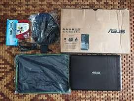 Laptop Asus X441N Ram 4GB, Lengkap, Masih Segel, Win 10 Ori