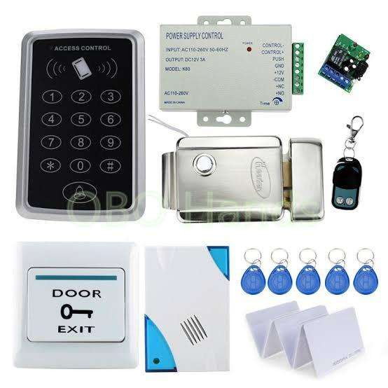 Complete set rfid card device with electric lock access control system