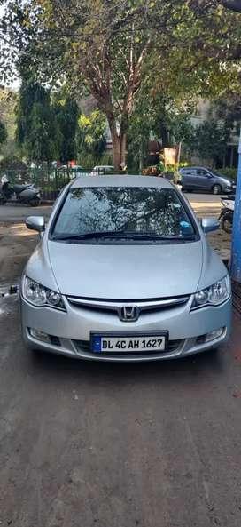 Honda Civic Silver Colour in a very good condition.