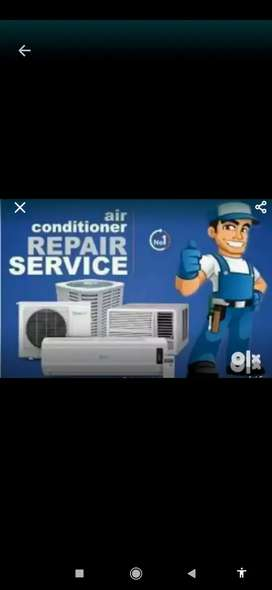 All brands ACs servicing and repairing @300.