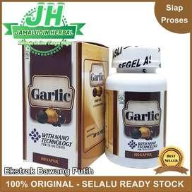 Obat Pengontrol Gula Darah - Obat Black Garlic Ekstrak Bawang Hitam