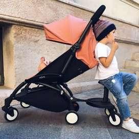 PRELOVED! Like New Stroller Babyzen 6+ YoYo Original Plus Board
