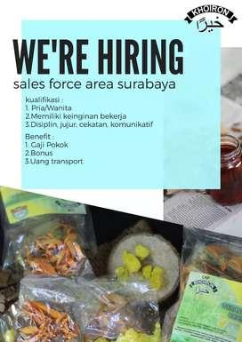 Lowongan sales area surabaya