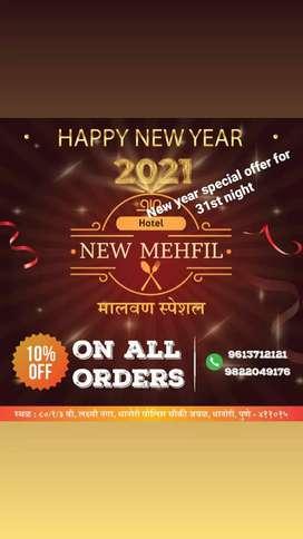 Required hotel maharashtrian chef and kitchen staff
