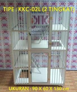 Kandang Kucing Alumunium Bandung Gratis Ongkir - COD mulai 799K