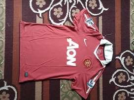 Jersey bola sepakbola Manchester united Ori Berbatov