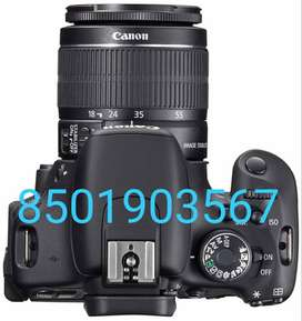 Canon 600 d with new long lens