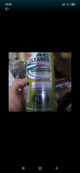 Ac cleaner + disinfectant ( Megah top )