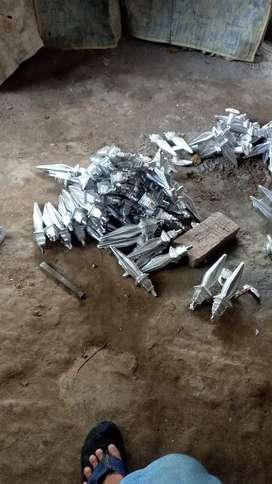 Menerima pembuatan kembang alumunium dan apa saja bisa