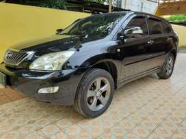 Toyota harrier 2.4 G bensin tahun 2010 warna hitam
