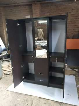 Brand New 3 Door wardrobe Available in factory price