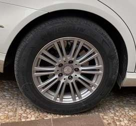 Mercedes OEM Alloy Rims and Tyres