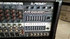 Power Mixer Peavey xr 684