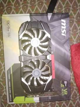 msi 1060 6gb for sale . not much used.