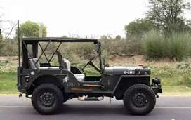 Open and close body Jeep modified