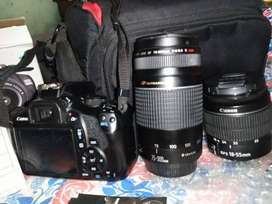Canon 1300d with extra lens back