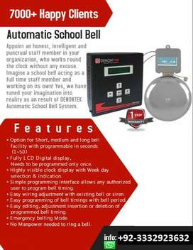 Automatic School bell for sale