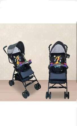 Jual stroller babydoes murah kondisi baru