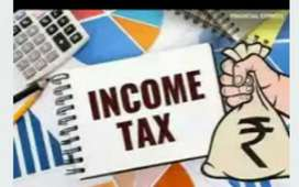 Tds, Gst return income tax return professional tax and accounts