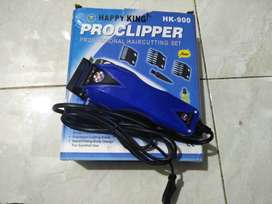 Freeongkir seDIY alat cukur rambut/clipper Happyking HK-900+sisir Baru