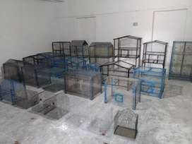 New steel Birds cages available at all size...