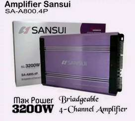 Power 4 channel Sansui