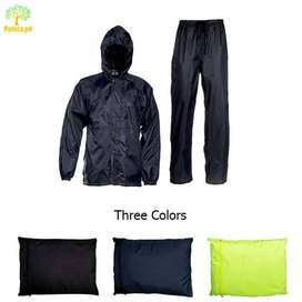 2pcs Clothes. Best Quality Water And Dustproof Rain Suit And Rain Coat