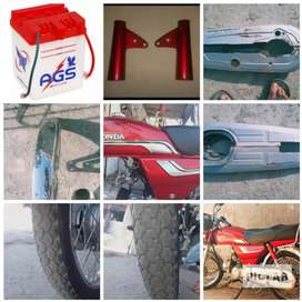 tanki tapy /front motergruad /chain cover / kaan / battery / back tire
