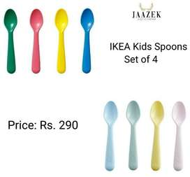 IKEA Spoon- 4 pieces mixed colors
