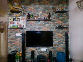2 bhk spacious fully furnished flat for rent for male bachelors.