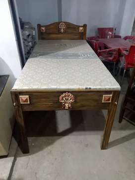 Single bed @ new mattress  for sell