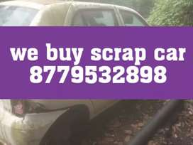 Old junk car scrap car buyer