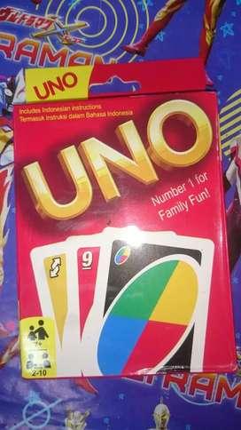 Uno kartu baru stock 1 lagi