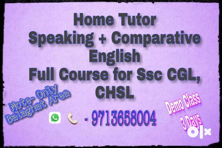Speaking/Comparative English 0