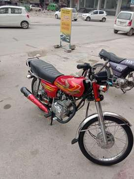 United 125 converted to honda