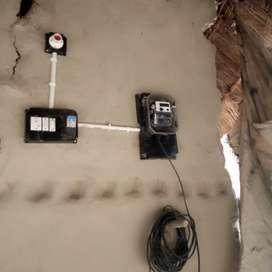 Meter working at village door to door at sataon block.